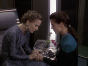 Jadzia bittet Lenara zu bleiben