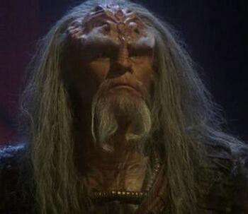 ...as the Klingon chancellor