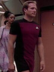 Lieutenant J.G. Kommando Skirt USS Enterprise-D 2364 Sternzeit 41153