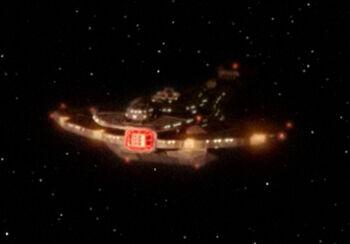 Nador's starship