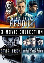 Star Trek 3 Movie Collection Region 1 cover