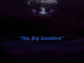 The Big Goodbye title card