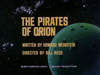 The Pirates of Orion title card