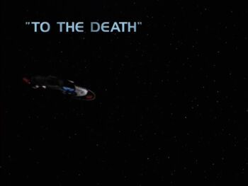 To the Death title card