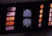 Interface probe, display graphic