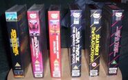 Movies UK VHS original release spines