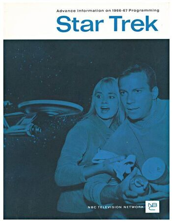 ...on the cover of the NBC 1966-1967 television season information brochure