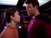 Riker and Wesley, 2364