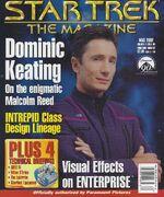 Star Trek The Magazine volume 3 issue 1 cover