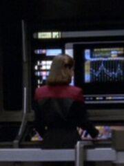 Sternenflottenoffizier Kommando Navigation 10 USS Voyager 2375
