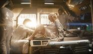Winona Kirk gives birth