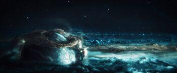Xahea from orbit