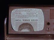 Zeitungsausschnitt auf Tricorder 1930