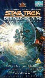 DS9 5.7 UK VHS cover
