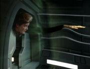 Janeway Kontakt mit der Anomalie
