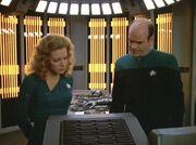 Kes und der Doktor untersuchen Nanosonden