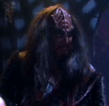 "... as a Klingon soldier in ""Borderland"""