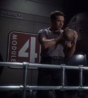 Matthew Ryan in cargo module 4