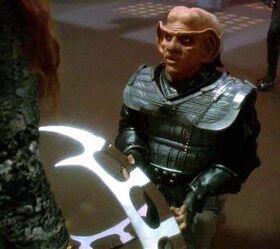 Quark with batleth