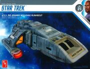Round2 AMT Model Kit DS9 RioGrande Runabout 2019