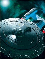 Star Trek TNG Build The USS Enterprise-D A3 poster