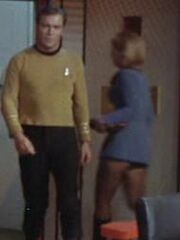 Wissenschaftliche Offizierin Enterprise 2267 Sternzeit 3198