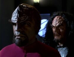 Worf and Martok