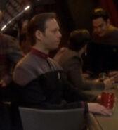 Command lieutenant at Quark's bar