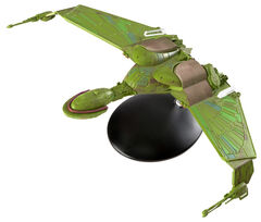 Eaglemoss XL 13 Klingon Bird-of-Prey