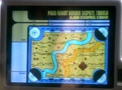 Glyrhond river map