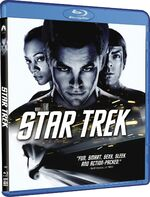 Star Trek 1 disc Blu-ray Region A cover