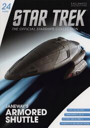 Star Trek Official Starships Collection Shuttle issue 24