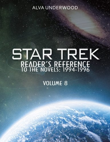 Star Trek Readers Reference to the Novels 1994-1996