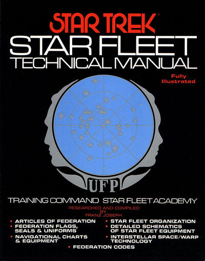 Star Trek Star Fleet Technical Manual Ed1