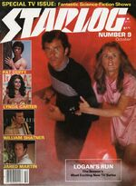 Starlog issue 009 cover