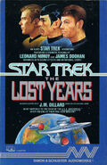 The Lost Years audiobook cover, US cassette edition