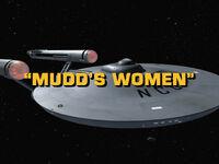 1x03 Mudd's Women title card