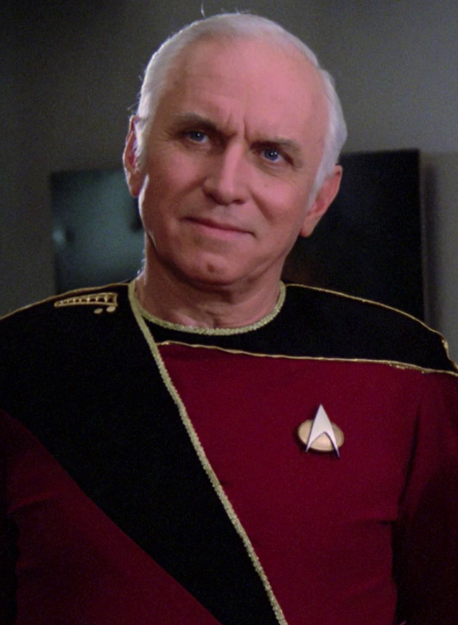 Vice Admiral Aaron In 2364