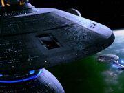 Enterprise erreicht Sternenbasis 133