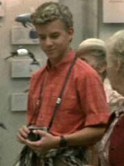 Führungsteilnehmer Junge Cetacean Institute 1986