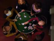 Pokerspiel der Führungsoffiziere