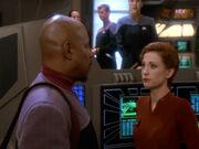 Sisko Abschied von Deep Space 9