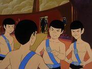 Spock wird von Mitschülern verspottet