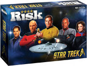 Star Trek 50th Anniversary Risk packaging