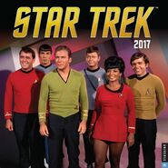 Star Trek Calendar 2017 cover