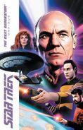 Star Trek TNG Omnibus cover