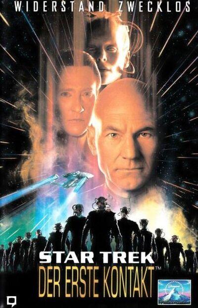 Star Trek VIII (Kinofassung - Kauf-VHS Frontcover)
