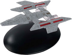 Eaglemoss 166 Tamarian Deep Space Cruiser