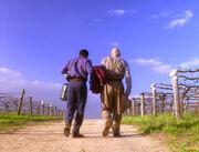 Picard und La Forge wollen nach England