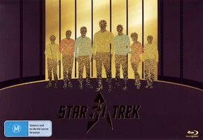 Star Trek 50th Anniversary TV and Movie Collection Australian blu-ray